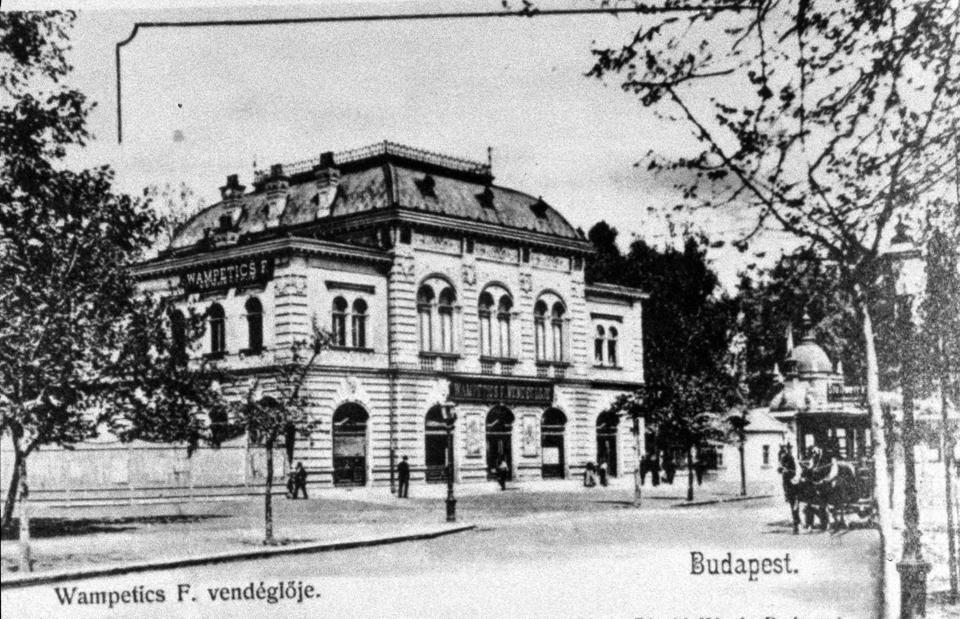 Wampetics Ferenc egykori vendéglőjének ma is meglévő épülete